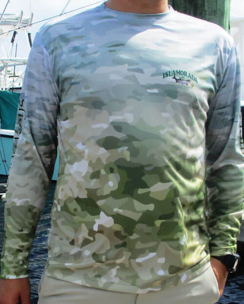 Men's Cool Dry Shirt (Tarpon Camo)