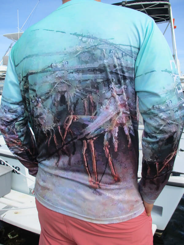 Men's Cool Dry Shirt (Lobster Cave)